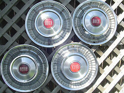 1957 Buick Roadmaster Hubcaps Wheel Covers Center Caps Antique Vintage Classic