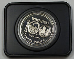 1974 Canada Dollar Proof-like City Of Winnipeg 100 Years With Case