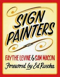 Sign Painters By Faythe Levine English Paperback Book Free Shipping