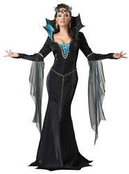 Evil Sorceress Queen Witch Gothic Adult Costume
