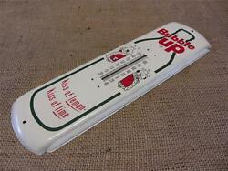 Vintage Bubble Up Thermometer Antique Old Store Display Sign Soda Signs 8818