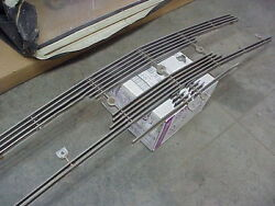 1957 57 Lincoln Premiere Capri Front Grille Trim Moulding Stainless Steel Grill