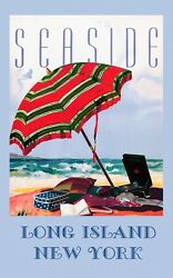 Seaside Long Island New York Beach Tourism Vintage Poster Repro Free Ship In Us