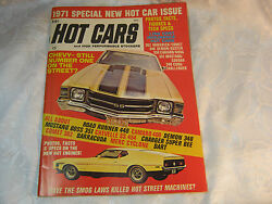 Hot Cars And High Performance Stockers Magazine Vintage Dec 1971
