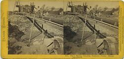 Thomas Houseworth And Co. Stereoview 1014 1870s Mining Out A Ranch, California