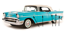 57 Chevy Bel Air And 210 2-door Stainless Side Molding 10 Piece Set 1957 Chevrolet