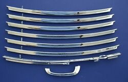 55 56 57 Chevy Nomad Tailgate Bars And Handle Set New