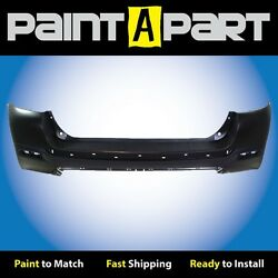 Fits 2011 2012 2013 Toyota Highlander Rear Bumper Cover Premium Painted