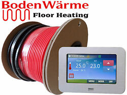 Electric Underfloor Heating Cable Kit All Sizes Loose Wire 150w/m² Tile Heating