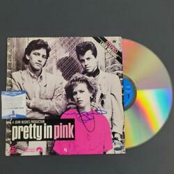 Molly Ringwald Signed Pretty In Pink Laserdisc Cover Autograph Beckett Bas Coa