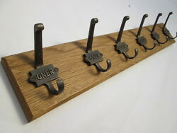 9 Sizes Solid English Oak Wooden Hat And And Coat Hooks Hanger Pegs Rail Rack 33