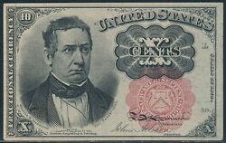 Fr1265 5th Issue 10andcent Fractional Currency Extremely Choice Gem Cu Br6066