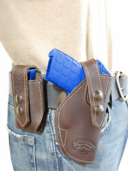 NEW Barsony Brown Leather Holster + Mag Pouch KelTec Taurus Small 380 UltraComp