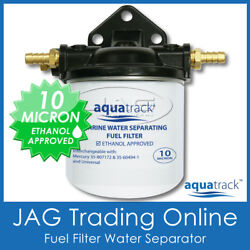 Boat Fuel Filter Water Separating Kit- Outboard/inboard Engine/marine 10 Micron
