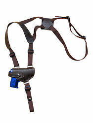 NEW Barsony Brown Leather Shoulder Holster Kel-Tec Ruger Mini-Pocket 22 25 380