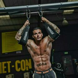 Rdx Pro Hanging Door Ab Straps Weight Lifting Sling Ab-crunch Gym Chinning Bar