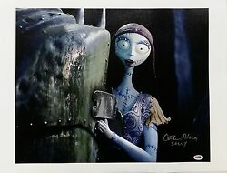 Catherine O'hara Signed Nightmare Before Christmas 16x20 Canvas Photo Psa/dna B