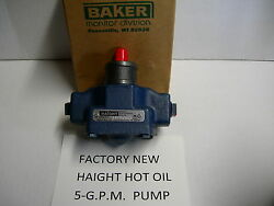 New Haight Hot Oil Pump 5-gpm Fits Broaster Replacement For Oem-part 09273