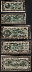 5 Different The National School Bank School Currency Wl7718