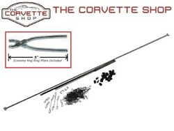 C2 Corvette Seat Cover Install Kit With Hog Ring Pliers 1963-1964 X2082 4904