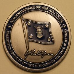 21st Secretary Of The Air Force Michael W Wynne Challenge Coin