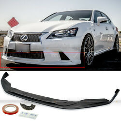 For 13-15 Gs350 F Sport Unpainted Sk Style Pu Front Bumper Chin Lip Body Kit