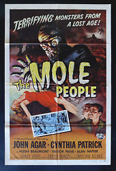 The Mole People Cinemasterpieces Movie Poster 1956 Monster Sci Fi Horror