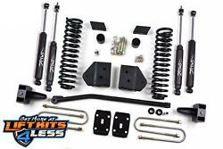 Zone F6n/f12n 4and039and039 Suspension Lift Kit For 2008-10 Ford F250 F350 4x4 Gas/diesel