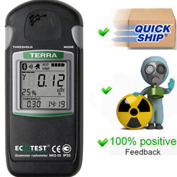 Terra Mks 05 With Bluetooth Russian Dosimeter Geiger Counter Radiation Detector