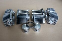 Big Set Of Cylinders And Heads Pistons With Rings For Motorcycle Ural 750cc.