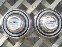 Mopar Dodge Chrysler Plymouth Charger Hubcaps Wheel Covers Center Caps