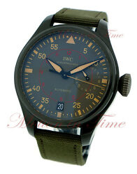 IWC Big Pilot's Top Gun Miramar 7 Day Power Reserve 48mm Ceramic Ref: IW501902