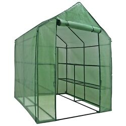 Portable Greenhouse Walk In Green House Outdoor Plant Gardening Year Around
