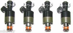 Set Of Four Brand New Gm Oem Fuel Injectors 1996-99 Gm Cars With 2.4 L 4 Cyl.