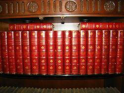 Thomas Carlyle. Complete Works. 20 Vols Edition Deluxe Limited Leather 1884