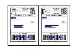 10000 Self Adhesive 8.5 X 11 Shipping Labels For Ups Usps Fedex Paypal Free Ship