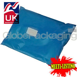 Strong Metallic Blue Mailing Postal Plastic Poly Bags Mailers All Sizes/qty's
