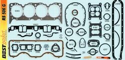 Chevy 348 Full Engine Gasket Set Best Cylinder Head+intake+exhaust+valve Cover