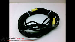 Turck Csm Ckm12-12-8/s653 8m 12p M/f St/st Double Ended Cordset, New 191412