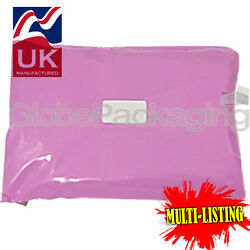 Strong Pink Postal Plastic Postage Poly Mailing Bags Mailers All Sizes/qty's