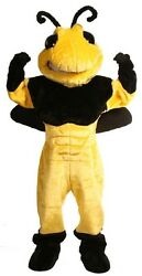 Power Hornet Professional Quality Mascot Costume Adult Size