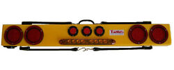 Towmate 48 With Safety Strip And Imon Monitor - Wireless Wide Load Light Bar