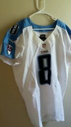 Matt Hasselbeck Game Used Jersey Tennessee Titans Psa Nike