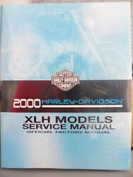 Nos Harley Davidson Factory Shop Repair Service Owners Manual 2000 Xlh 99484-00a