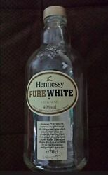 Hennessy Pure White Cognac Bottle Empty - Collectable Rare