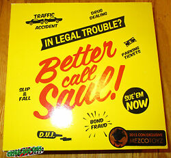 Better Call Saul Goodman Figure Jimmy Mcgill Breaking Bad Sdcc 2015 Exclusive