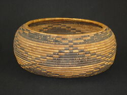 A Finely Woven Early Pomo Gift Basket Native American Indian Circa 1900