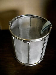 New Holland Spindryer Heavy Duty Baskets 18x18 10 Mesh Stainless Steel 9602074