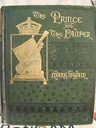 Mark Twain. The And The Pauper. First Ed First Issue First Binding 1882