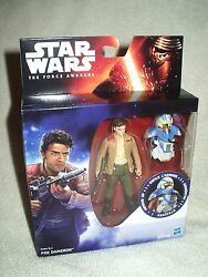 Action Figure Star Wars The Force Awakens Poe Dameron Armour Up 4 Inch